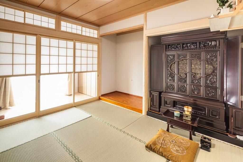 羽島市で建てた注文住宅の和室