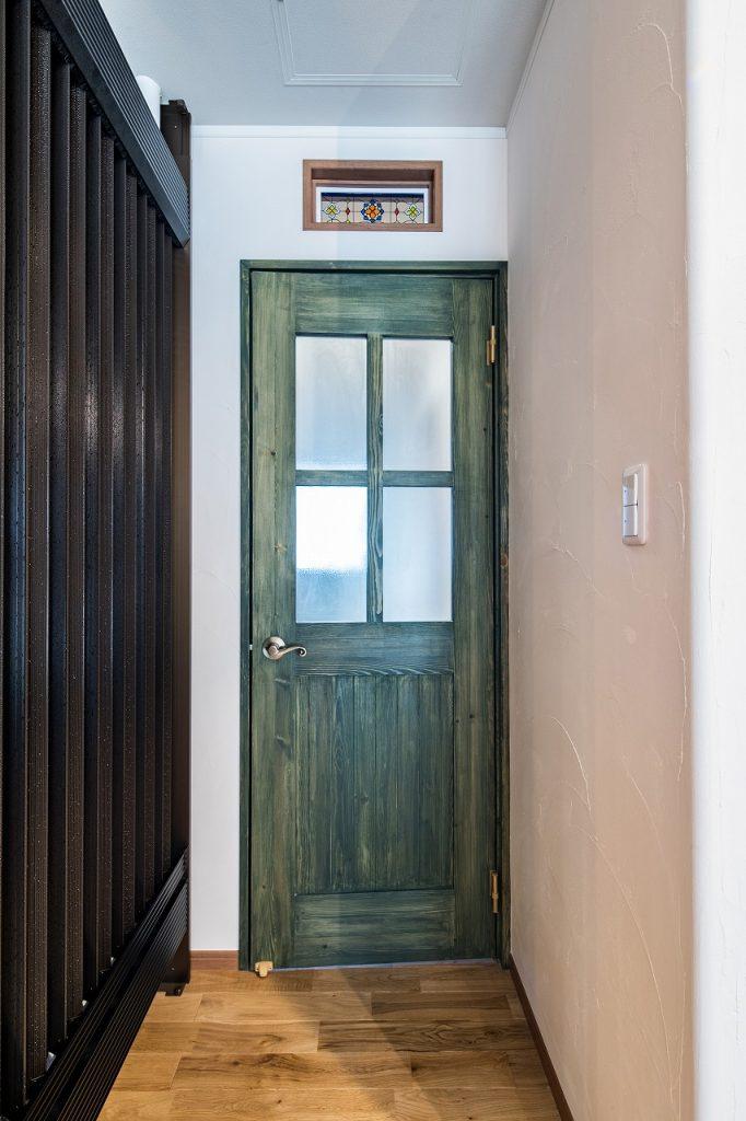 大垣市で建てた注文住宅のドア
