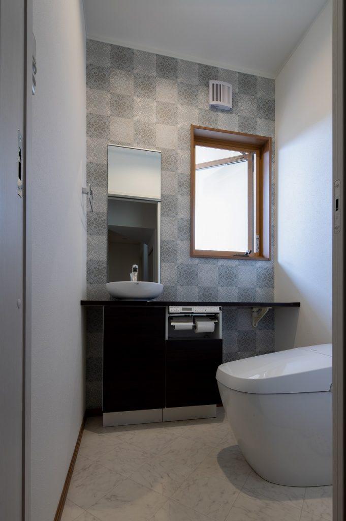 羽島市で建てた注文住宅のトイレ