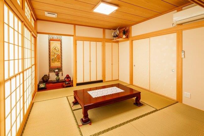 岐阜で建てた注文住宅の和室